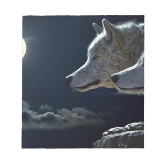 Wolf Gifts Notepad