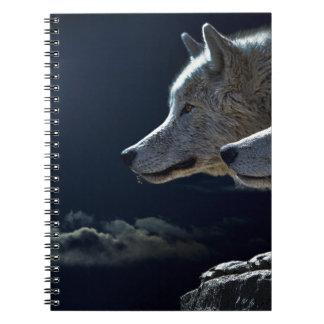 Wolf Gifts Spiral Notebook