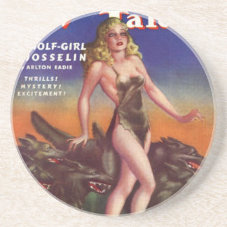 Wolf Girl Coaster