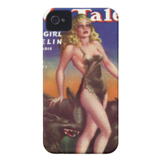 Wolf Girl iPhone 4 Cover