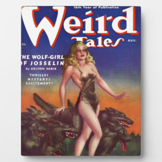 Wolf Girl Plaque