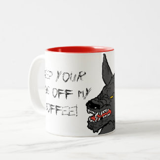 Wolf Got My Coffee Mug