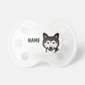 Wolf Grey  Alaskan Malamute Cartoon Dog Dummy