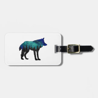 Wolf Haven Luggage Tag