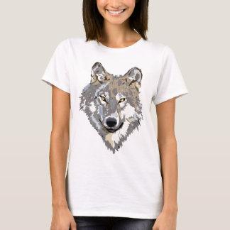 Wolf Head Art Tattoo Design T-Shirt