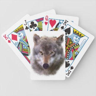 wolf-head bicycle playing cards