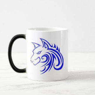 Wolf Head Cup for Lefties Coffee Mugs
