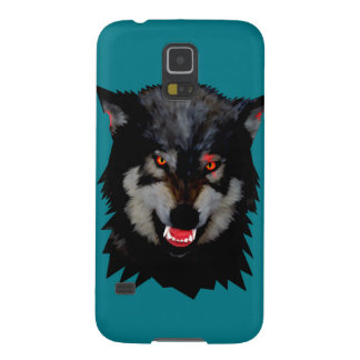 Wolf head galaxy s5 cases