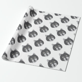 Wolf Head Wrapping Paper