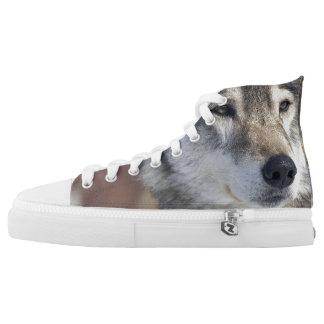 Wolf High Tops