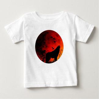 wolf howl baby T-Shirt