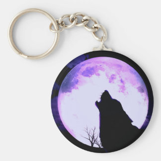 Wolf Howl Keychain