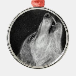 Wolf Howl Premium Ornament