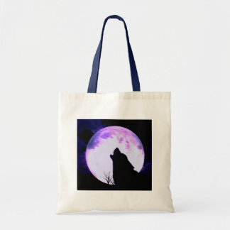 Wolf Howl Tote Bag