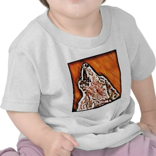 Wolf Howl T Shirts
