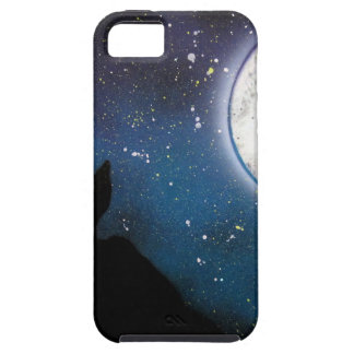 Wolf iphone se iphone 5 5s cases for Spray paint iphone case