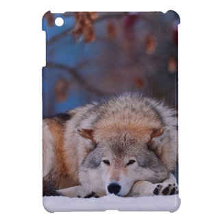 Wolf Hunts In The Snow iPad Mini Covers