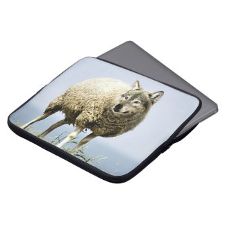 Wolf in Sheep Clothing Laptop Sleeve