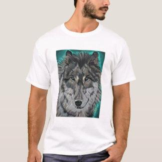 Wolf in Teal Ice Edun Live Genesis unisex tee