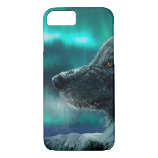 Wolf in the Night iPhone 7 Case