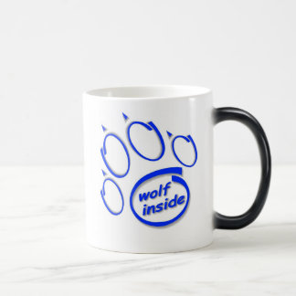 Wolf Inside Morphing Mug! Magic Mug