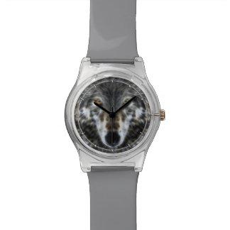Wolf Inspirational graphic Portrait Watch