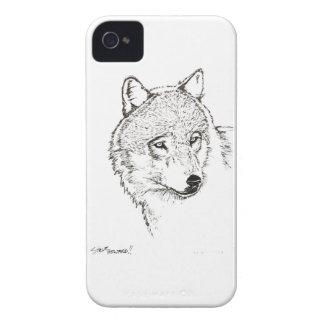Wolf iPhone 4 Case-Mate Case