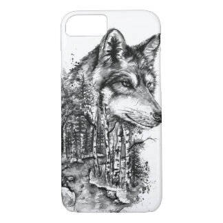 Wolf iPhone 8/7 Case