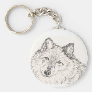 Wolf Key Chain Alpha Female