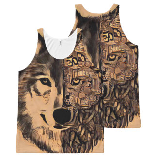 Wolf Life All-Over Print Singlet
