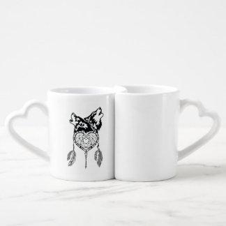 Wolf Love Coffee Mug Set