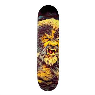 Wolf Man Airbrush Skateboard