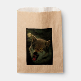 Wolf moon favour bag