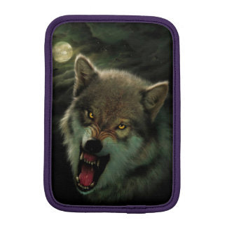 Wolf moon iPad mini sleeve