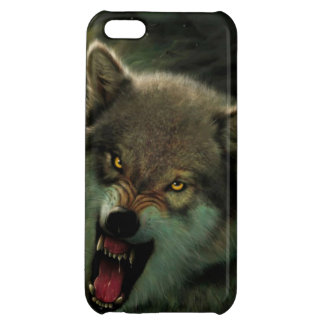 Wolf moon iPhone 5C case