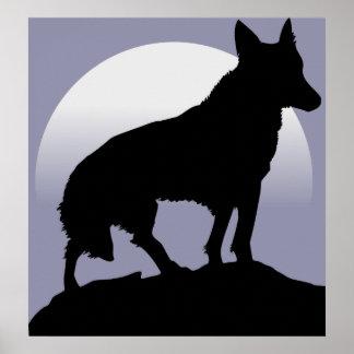 Wolf Moon Print