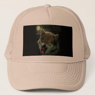 Wolf moon trucker hat