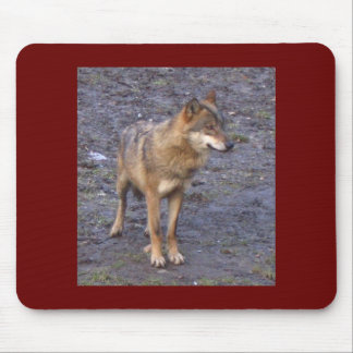 Wolf Mouse Pad