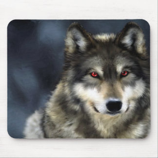 wolf mouse pads