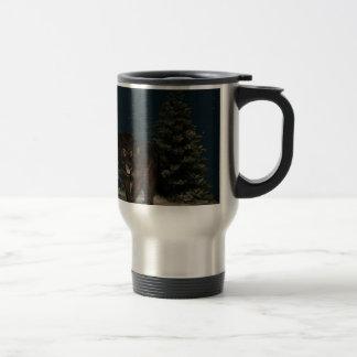 Wolf Stainless Steel Travel Mug