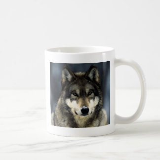 Wolf Basic White Mug