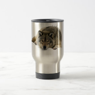 Wolf Stainless Steel Travel Mug