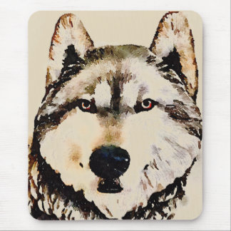 Wolf Nature Mouse Pad