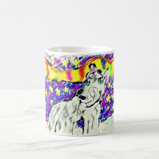wolf Northem light Magic Mug