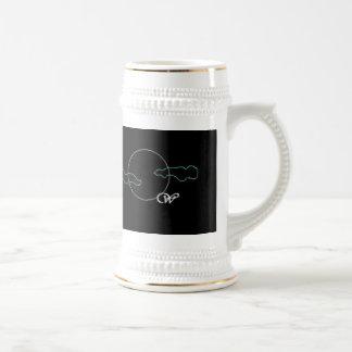 Wolf of the Past logo stein Beer Steins