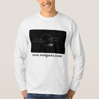 Wolf of the Past long sleeved logo shirt