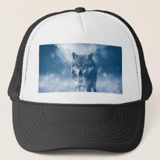 Wolf Office Home Personalize Destiny Destiny'S Trucker Hat
