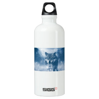 Wolf Office Home Personalize Destiny Destiny'S Water Bottle