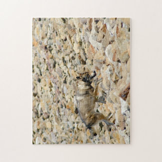 Wolf on the Rocks Jigsaw Puzzle