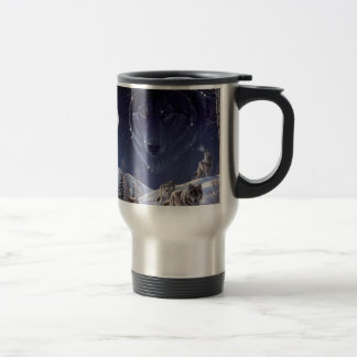 Wolf Pack Travel Mug